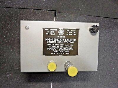 Peabody Engineering High Energy Exciter 52444