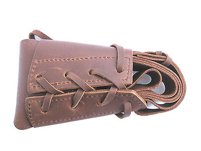 Leather Rifle Boot Sling - For Flintlock or Percussion Muzzleloaders - Durable