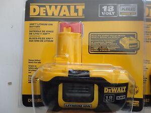 DEWALT DC9182 18V 18 Volt Lithium Ion Battery Packs X 1 2016 replace DC9180  NIP