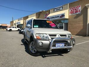 2005 MITSUBISHI PAJERO PLATINUM ULTRA CLEAN Wangara Wanneroo Area Preview