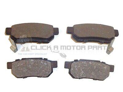 REAR BRAKE PADS SET OF 4 NEW for HONDA JAZZ 1.2 + 1.4 2004-2008
