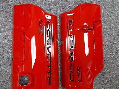 C6 Corvette GM Painted LS2 LS3 LS7  Fuel Rail Covers All C6 Colors Show Finish