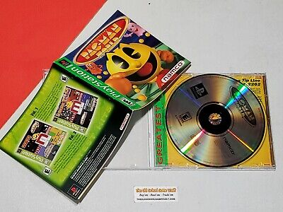 Pac Man World - Complete PlayStation 1 PS1 Game PS2
