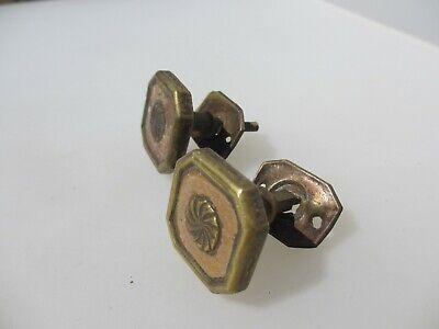 Victorian Brass Cabinet Knobs Handles Pulls Cupboard Hardware Antique Vintage