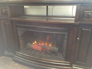 Fireplace is