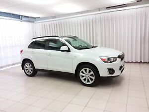 2014 Mitsubishi RVR AWD LEATHER, PANORAMIC ROOF AND NAVIGATION!!