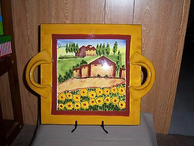 French Territory Yellow Teapot Douce Provence-Countryside Romancing Provence  USA