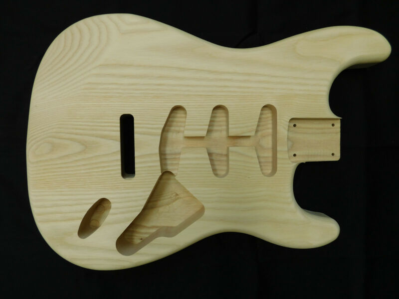 Ash S-Style Guitar Body