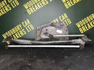 2001 VAUXHALL ASTRA G 1.6i Club 4DR MK4 FRONT WIPER MOTOR & LINKAGE 23002526