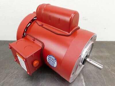 Leeson Electric Motor 110493.00 56 Frame 34 Hp 1725 Rpm 1-ph 115208-230 V