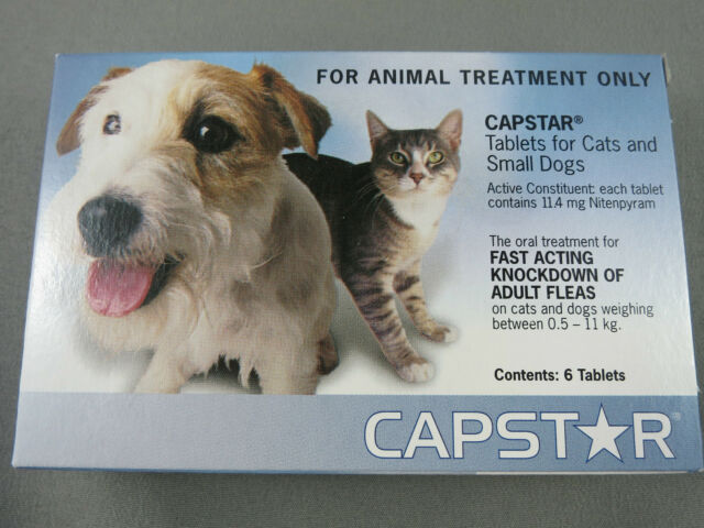 Capstar For Small Dogs and Cats 0.5-11kg 6 tablets