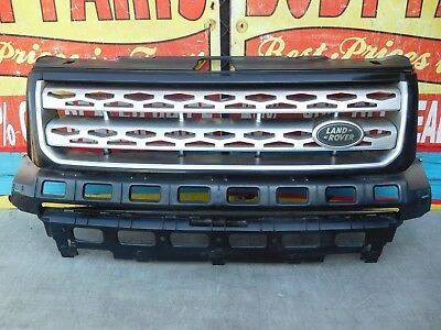 2011 - 2015 LAND ROVER RANGE ROVER LR2 UPPER FRONT GRILL BH52-8A133 OEM