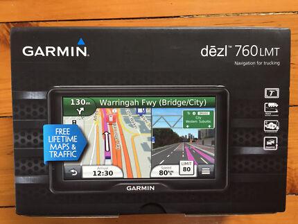 Garmin dezl 760 LMT - Truck Navigation