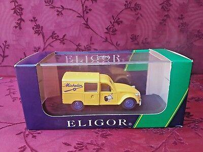 ELIGOR 1:43 Citroën 3CV Michelin Métal Voiture camion camionnette en boite