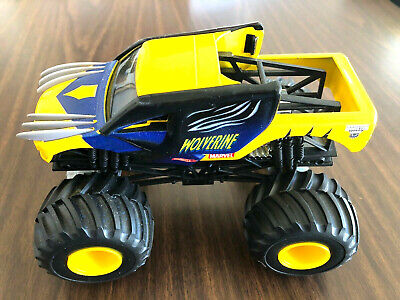 RARE 2014  HOT WHEELS MONSTER JAM 1:24 SCALE WOLVERINE LOOSE NO RESERVE FREE SHP