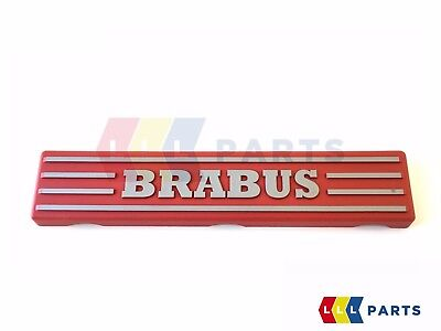 NEW GENUINE SMART FORTWO 451 BRABUS ENGINE FUEL RAIL COVER RED A1320100067