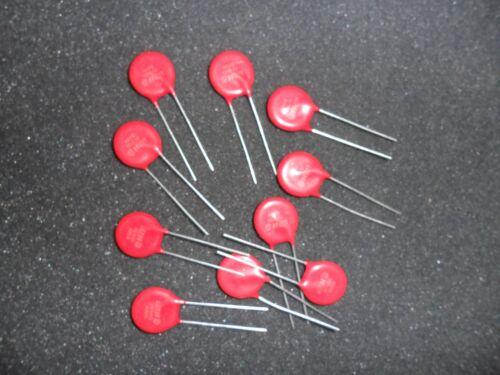 V130LA10A  MOV  Metal Oxide Radial VARISTOR 130v 4.5ka   (10 PER LOT)