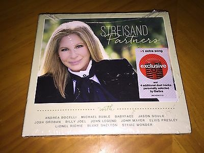 Barbra Streisand - Partners (Target Exclusive Deluxe 2CD) Brand New & Sealed