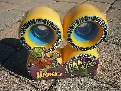 *NEW* Landyachtz Zombie Hawgs Wheels 76mm 82a Longboard Skateboard set of 4