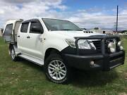 2014 Toyota Hilux SR 4x4 Dualcab Traytop Ute.D4D Automatic Inverell Inverell Area Preview