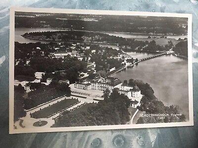 Luftbild Postkarte Drottningholm Schweden 🇸🇪