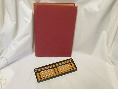 Vintage 1938 The Japanese Abacus Explained Book and Abacus Kyobun Kwan