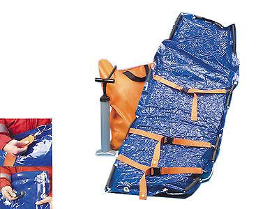 Vakuummatratze inkl. Tasche und Pumpe, Immobilisation für den Notfalleinsatz
