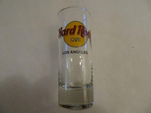 Hard Rock Cafe Shot Glass Los Angeles Classic Logo double black circle