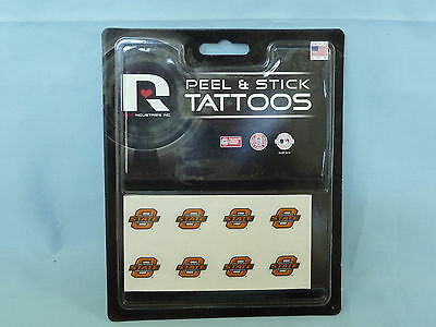- OKLAHOMA STATE COWBOYS Peel and Stick TATTOOS  NIP by RICO  Lot of 12 packages