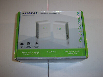Netgear XETB1001 Powerline 85 Network Adapter Kit XETB1001-100NAS
