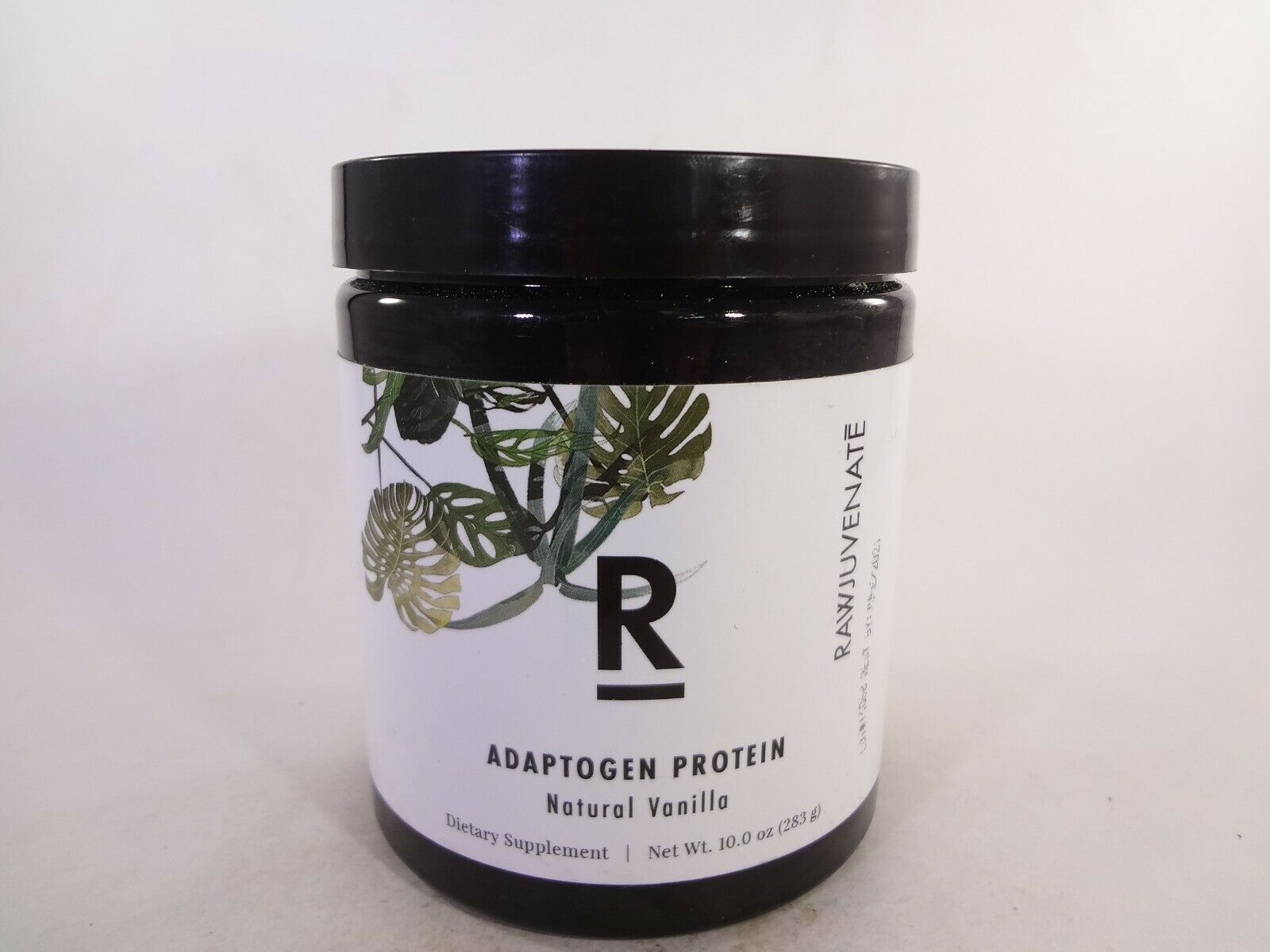 Rawjuvenate Adaptogen Protein Natural Vanilla 10.0 oz (283g) [VS-R]
