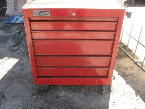 Snap-On tools USA 6 Drawer Toolbox Rollaway with KEY KRA-307D
