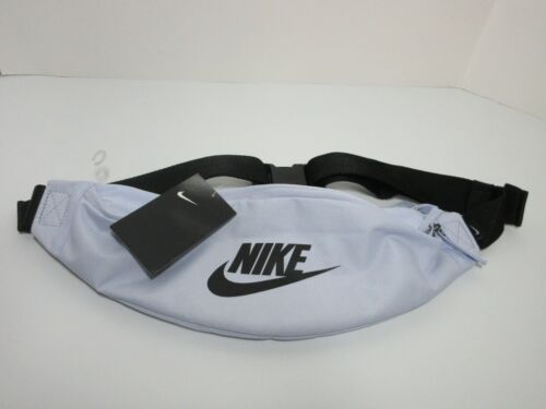 NIKE ADULT SIZE FANNY PACK - SKY BLUE/BLACK w/ GOLD INTERIOR - 100% AUTHENTIC