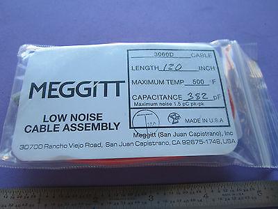 Endevco 3060d Cable 500f Piezoelectric For Accelerometer Calibration Vibration