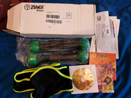 Zumba Fitness DVD Set + Toning Sticks