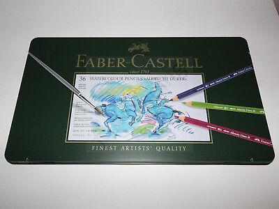 Faber-Castell 117536 - Aquarellstifte Albrecht Dürer 36er Metalletui -38%! NEU!