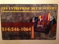 Entreprise multi-service électrique//7sur7// 49.95$ hrs