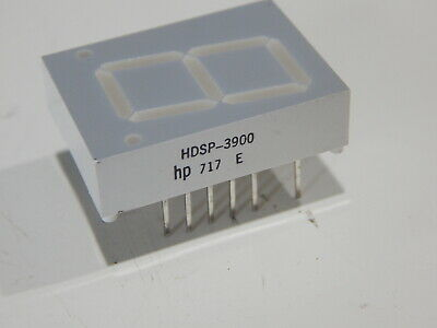 Hp Hdsp-3900 Led 7-seg Display 20mm Ca He Red Lhd