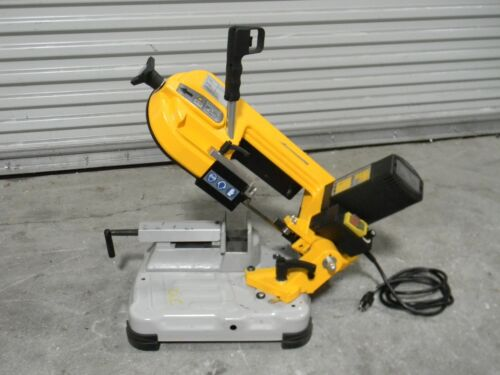 "Portable Horizontal Bandsaw 4-3/4"" x 4-3/4"" Capacity 1 HP 115v 1 Phase USED"