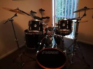 Sonor full size Force 2007 ,with elec practice set Pakenham Cardinia Area Preview