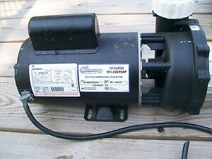 Hot tub pool spa pump amp motor a o smith 4 hp executive for Smith motor company nj