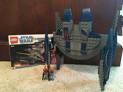 LEGO Star Wars Clone Wars Hyena Droid Bomber 8016 95% COMPLETE, 2 Battle Droids