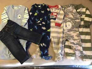 boy fleece clothing lot