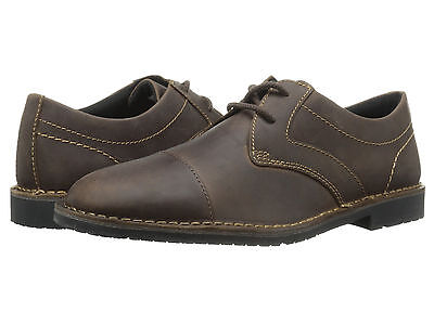 Rockport Urban Edge Captoe Oxford  Dark Brown Leather V78319