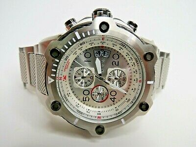 Invicta Bolt Men's Chronograph Watch Stainless Steel 28024