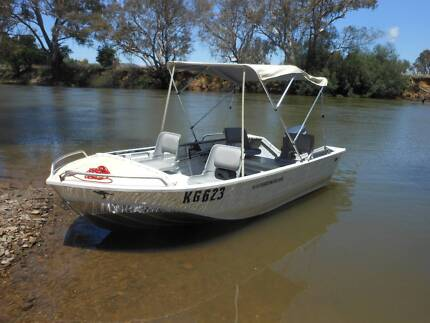 Allycraft 2006 410 Shadow Deluxe with 25 HP Yamaha