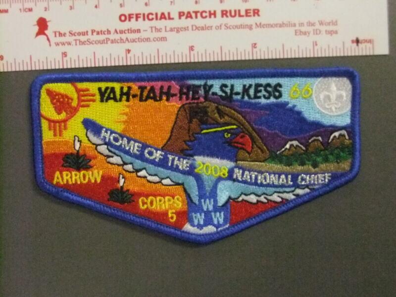 Boy Scout OA 66 Yah-tah-hey-si-kess flap 0690GG