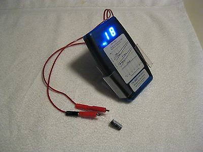 Anatek Blue ESR Capacitor Tester Meter - Complete Kit for Assy