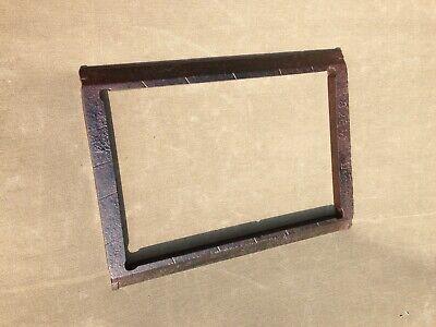 Letterpress Chase Steel Or Cast Iron 8x12 Vintage