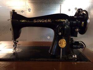 Machine à coudre antique Singer